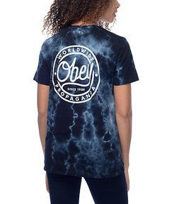 black graphic batik t-shirt with dark skinny jeans