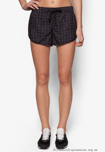 black and white checkered mini sweat shorts and sports bra top