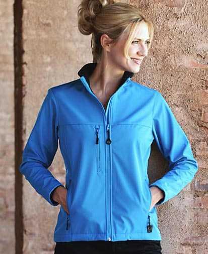 sky blue sports jacket with black joggers