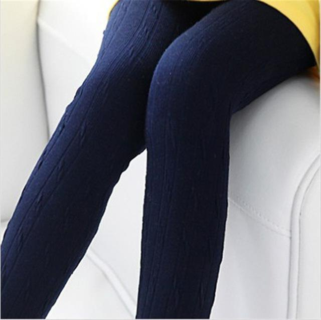 navy sweater leggings with lemon yellow mini dress