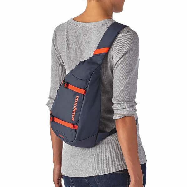 gray fitted long sleeve tee with purple lift bag