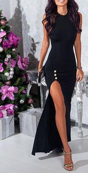sleeveless bodycon maxi wear dress with open toe heels in silver