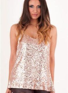 silver sequin with top in black leather