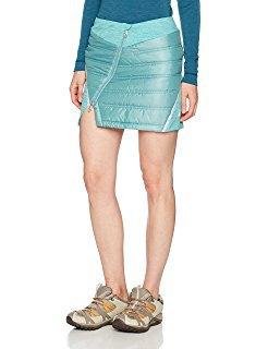 teal mini skirt with slit