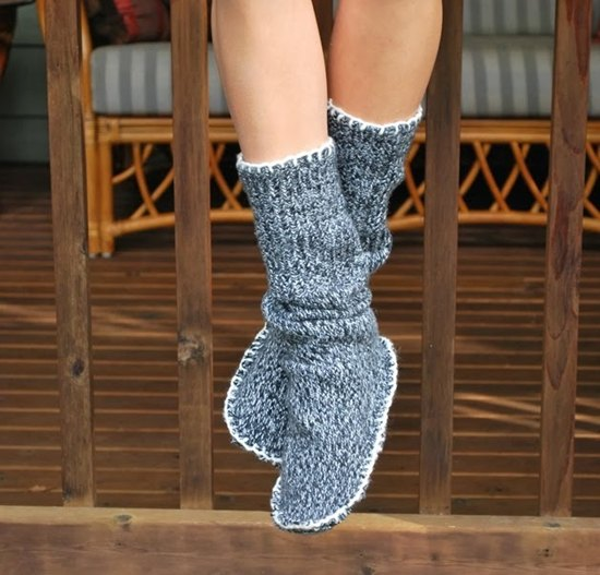 gray mid calf shoes with matching sweater dress