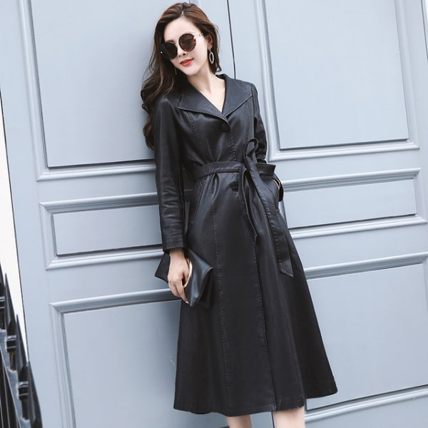 black coating with trench coats with ankle boots