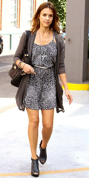 leather ankle boots with black and white leopard print belt mini dress
