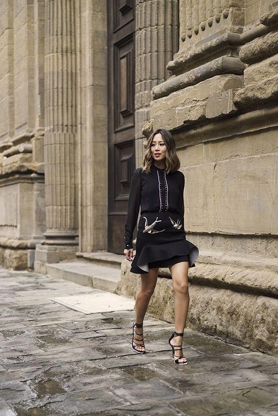 black lace heels black sieve