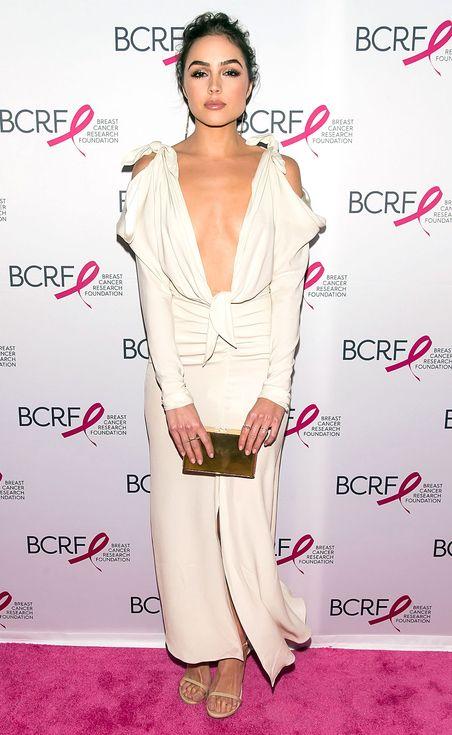 white cool shoulder dress sexy elegant