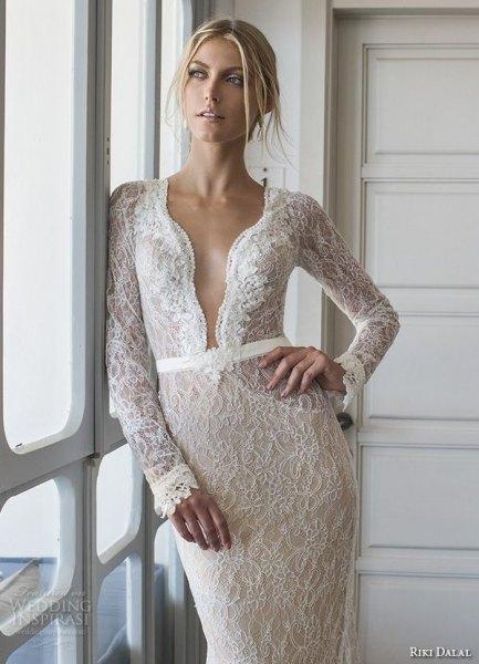 white lace, peeled neckline bodycon midi dress