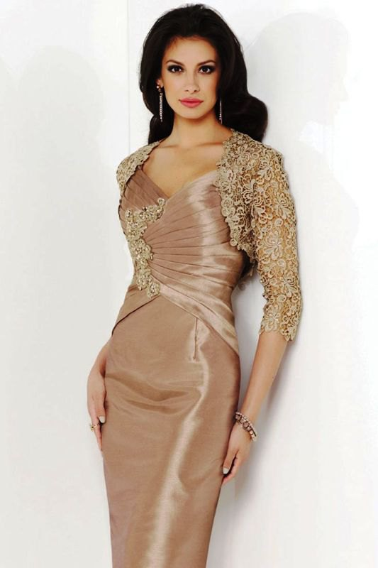 best gold sequin with gold sequin with silk bodycon midi wedding gown