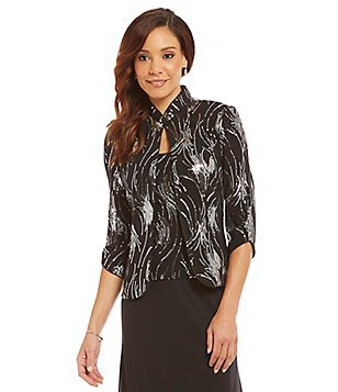 best black and silver sequin jacket for wedding guest