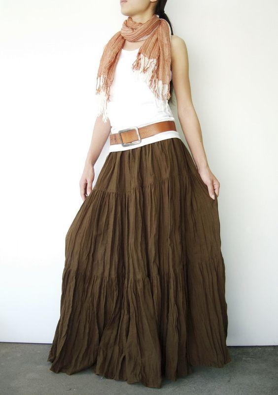 tassel skirt statement belt