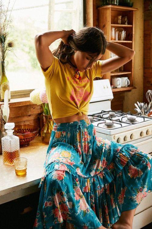 tassel dress hippie