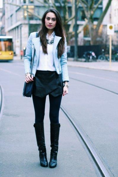 white chiffon button up shirt black velvet shirt