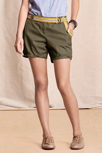blue and white plaid slim fit shirt green khaki cargo shorts