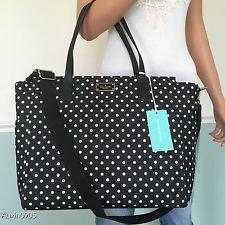 white sleeveless lace chiffon top black dot bag
