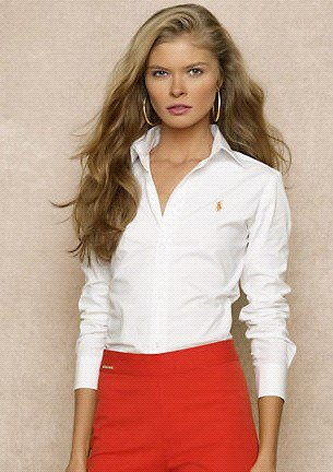 white slim fit shirt red pencil skirt
