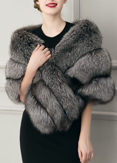 faux fur coat ladylike