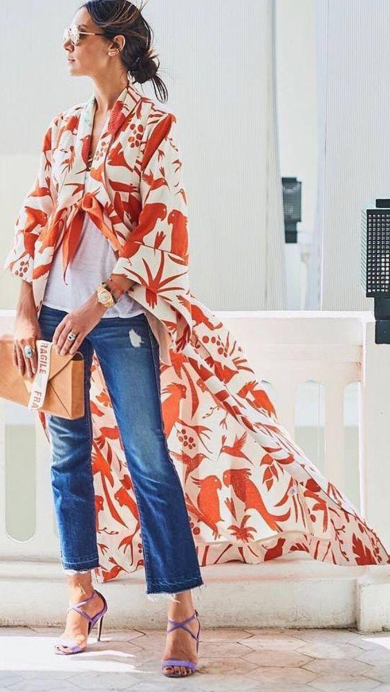 scarf dress layer