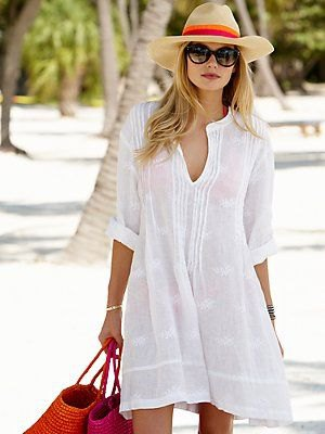 blouse dress straw hat