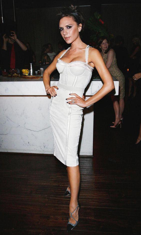 white corset dress elegant