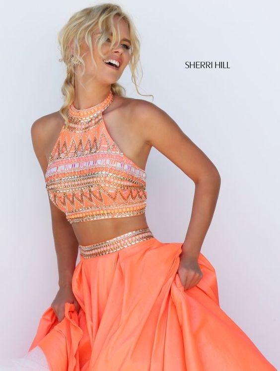 coral walk dress geometric
