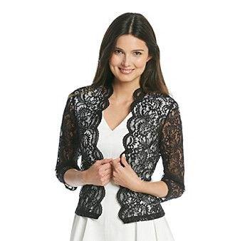 black lace shoulder white v-fold pleated skater dress