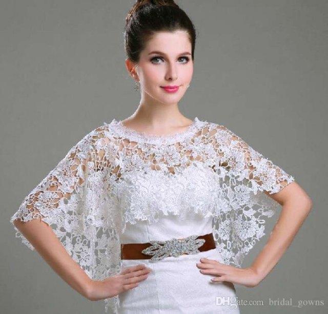 white lace sculptures bridesmaid dress