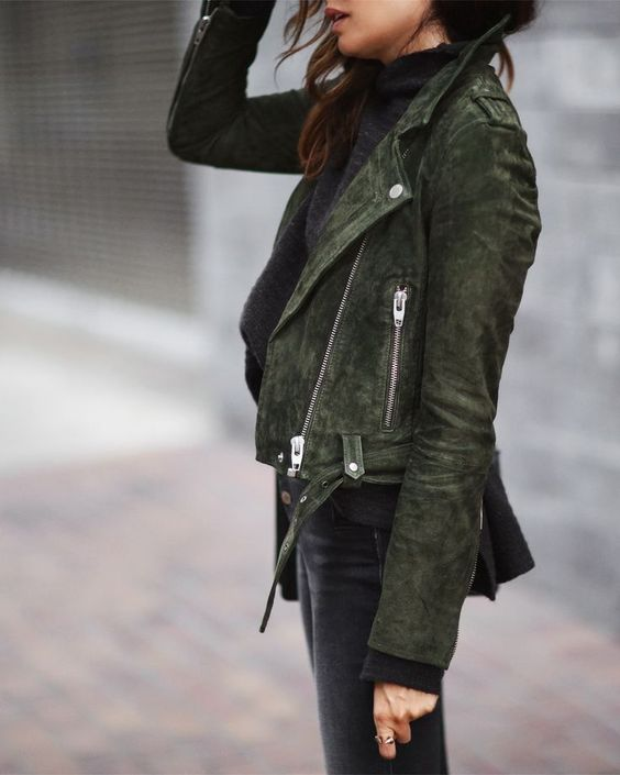 olive jacket relaxed