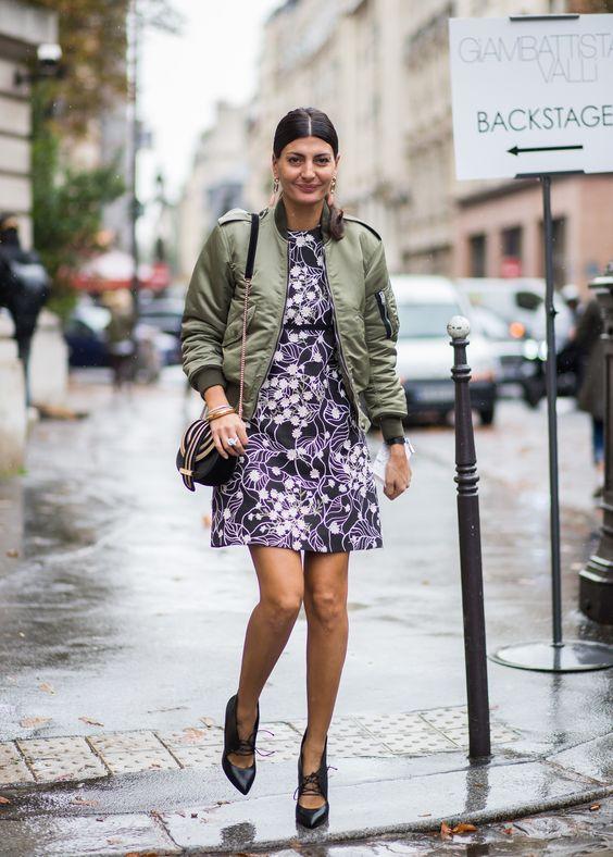 olive jacket dress bombs