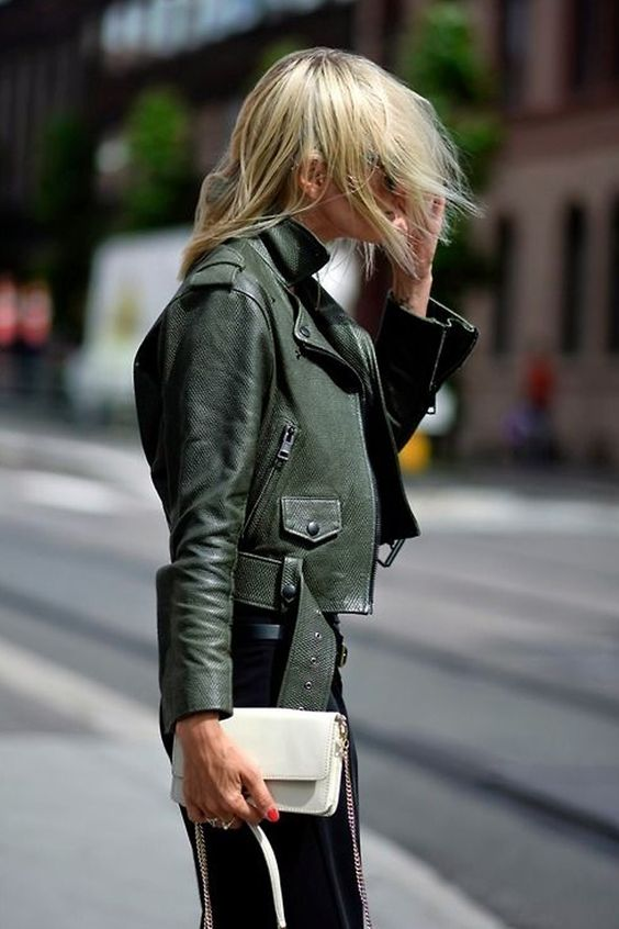olive jacket cropped