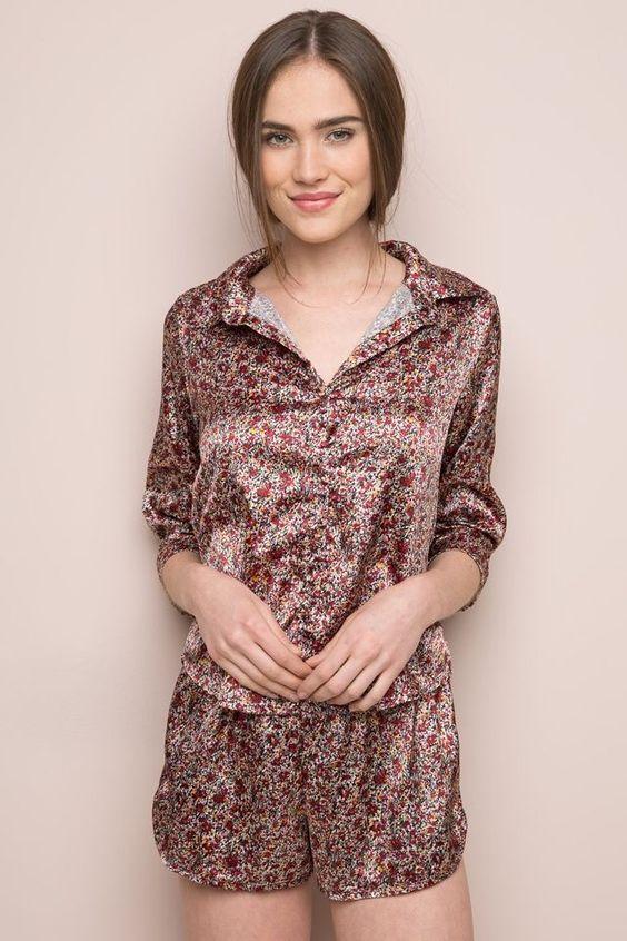 lisette shorts floral