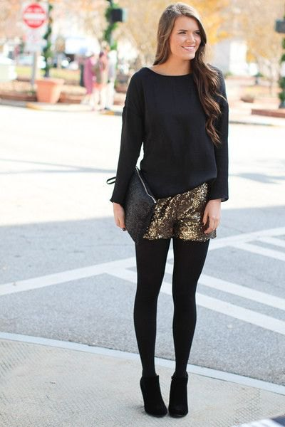 black loose fit leggings