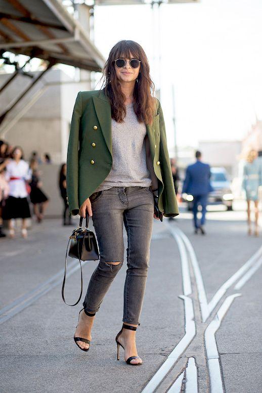 green blazer miliary