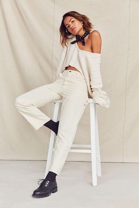 carpenter pants white