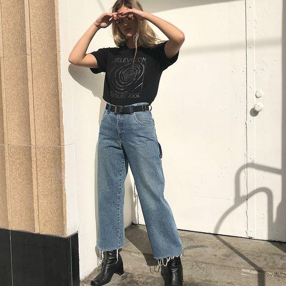 carpenter pants printed tee