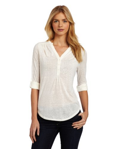 white half pure henley shirt black skinny jeans