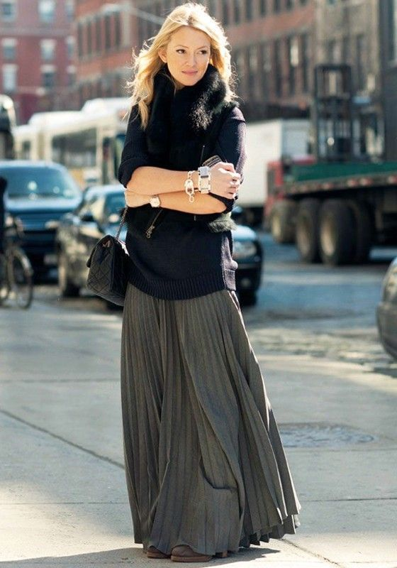 elastic waist skirt tunic
