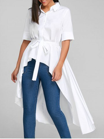 white collar shirt with high waist skinny jeans