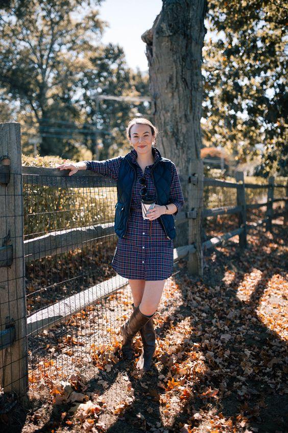 flannel dress west