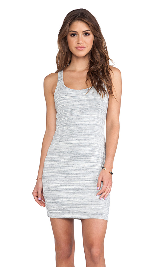 white tank dress sporty