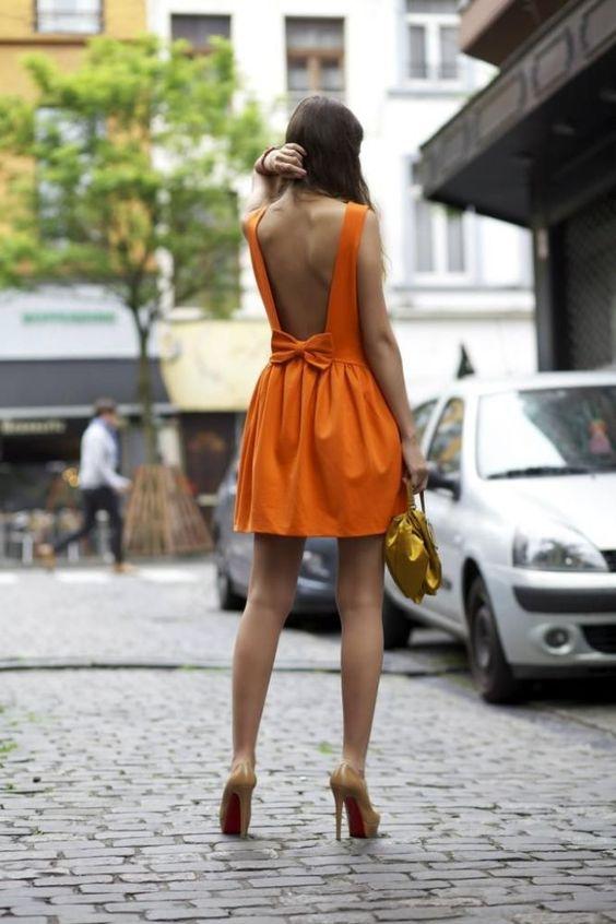 bend dress orange is black