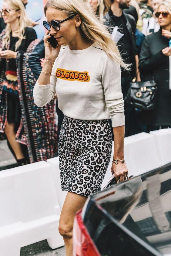 leopard print dress blondes