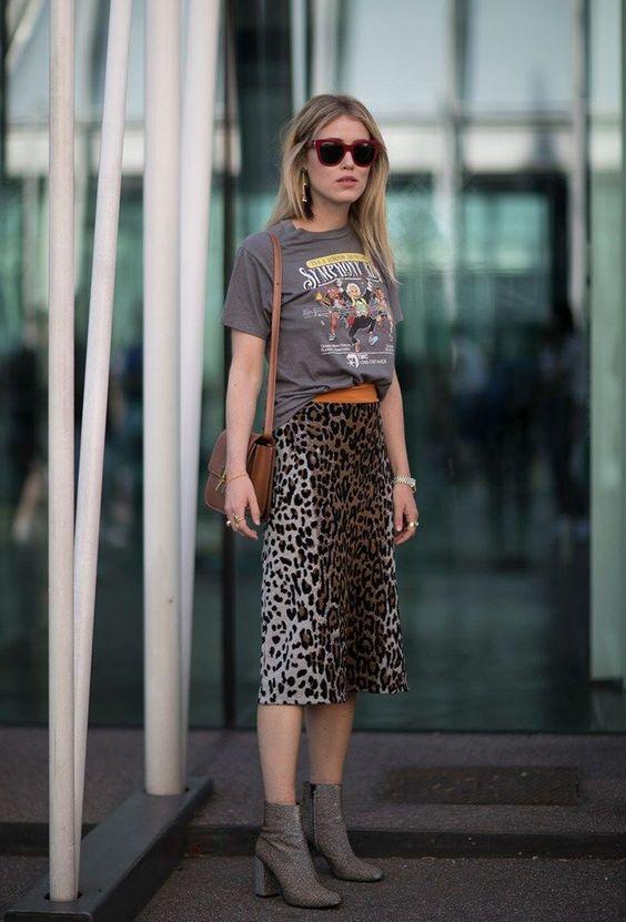 leopard print dress mix