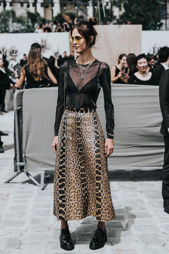 leopard print dress clean