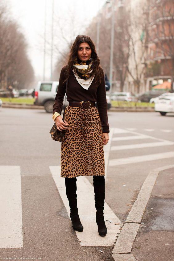 leopard print dress italian