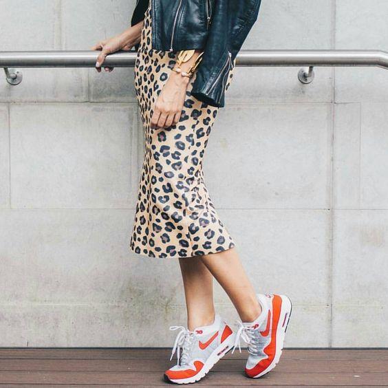 leopard print dress sneakers
