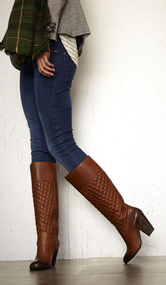 quilted boots work clothes