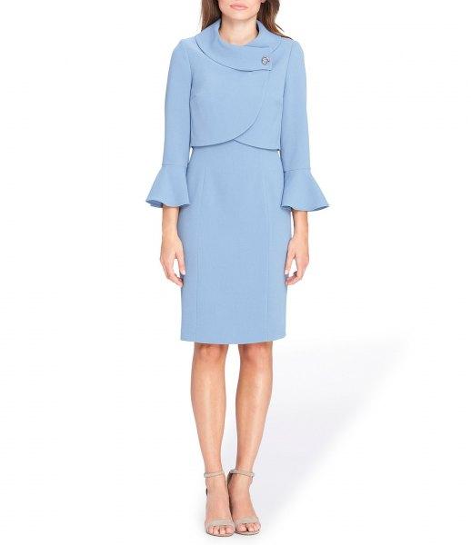 light blue dress dress